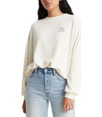 levi's women's graphic print sweatshirt