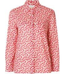 la doublej voile shirt - red
