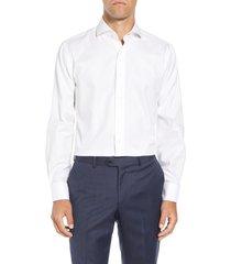 men's lorenzo uomo trim fit solid dress shirt