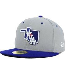 new era oklahoma city dodgers 59fifty cap
