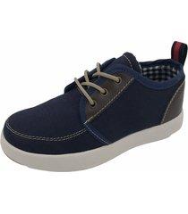 zapatos azul oscuro villabonr vbb-3704