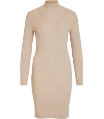 klänning viandena knit funnel neck l/s dress