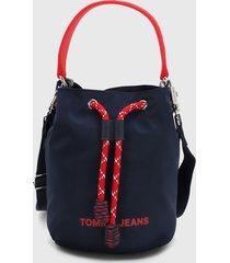 bolso azul oscuro-rojo-blanco tommy jeans