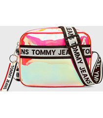 cartera canteloupe multicolor tommy hilfiger
