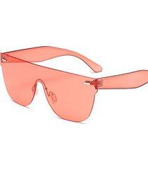 women estate colorful occhiali da sole quadrati con cornice outdoor casual anti-uv occhiali