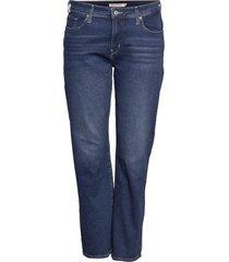 314 pl shaping straight paris raka jeans blå levi's plus