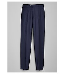 1905 navy collection traditional fit flat front men's suit separates pants by jos. a. bank
