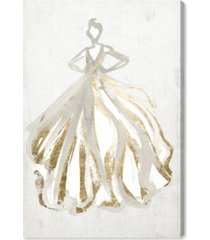"oliver gal elegant dress flow iii canvas art - 36"" x 24"" x 1.5"""