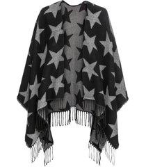 poncho (nero) - bpc bonprix collection