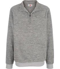 fleece trui roger kent grijs