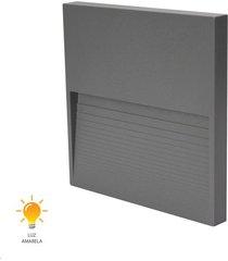 balizador fine led cinza concreto 12cm 3w 3000k bivolt - 20433014 - germany - germany