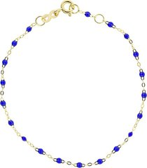 lapis bead classic gigi bracelet