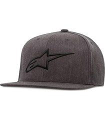 gorro ageless flat hat gris alpinestars