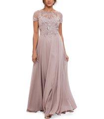 xscape chiffon gown