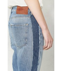 golden goose deluxe brand jeans happy high rise cropped blauw