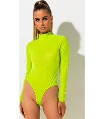 akira say it aint so long sleeve mesh bodysuit