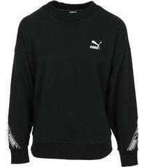 sweater puma classics tape crew wn's