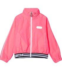 gcds mini sports jacket with press