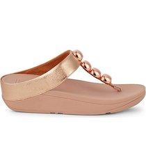 rola glitzy crystal thong sandals