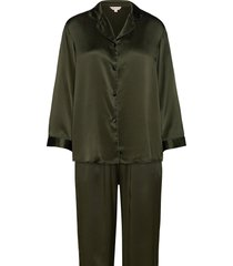 pure silk - basic pyjamas pyjama groen lady avenue