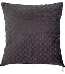 almofada decorativa de veludo aosta