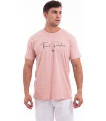 camiseta fide think positive rosa