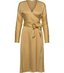 2nd serenity jurk knielengte geel 2ndday