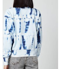 isabel marant étoile women's mobyli sweatshirt - blue - fr 40/uk 12
