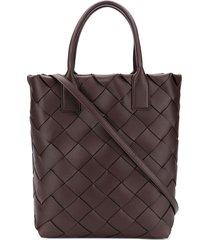 bottega veneta maxi cabat 30 tote bag - brown