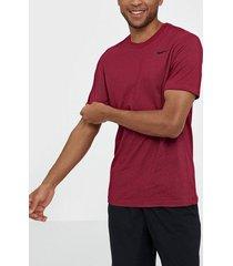 nike m nk dry tee dfc crew solid tränings t-shirts röd/rosa