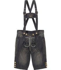bermuda di jeans bavaresi (nero) - bpc selection