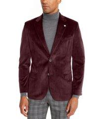 nautica men's modern-fit velvet sport coat