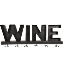 stojak wieszak ścienny na kieliszki do wina wine