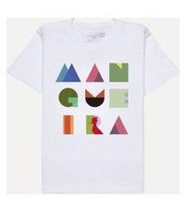 camiseta mini geométrica mangueira casual reserva mini branco