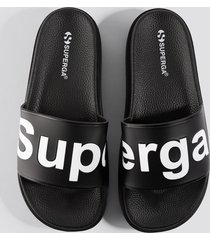 superga puw 1919 slipper - black
