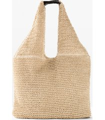 borsa shopper di paglia (beige) - bpc bonprix collection