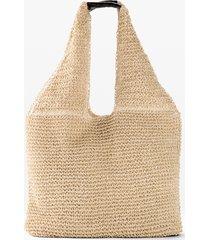 borsa shopper in paglia (beige) - bpc bonprix collection
