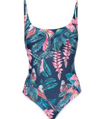 duskii haleakala scoop swimsuit - multicolour
