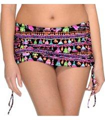 saltabad torguay bikini skirted brief with string * gratis verzending *