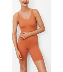 mango women's strapped stretch romper