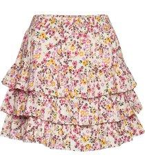bohemian skirt kort kjol multi/mönstrad by ti mo
