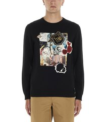 fendi karl kollage sweater