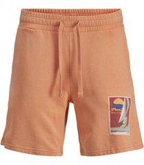 jack & jones men's tropicana terry shorts