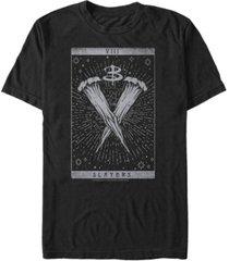 men's buffy the vampire slayer slayer tarot short sleeve t-shirt