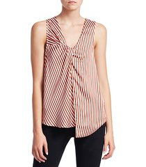 stripe twist tank