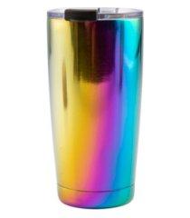 thirstystone by cambridge 20 oz shiny rainbow tumbler