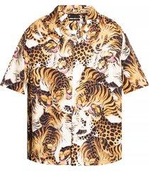 'pryde' animal-motif shirt
