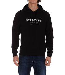 belstaff logo hoodie