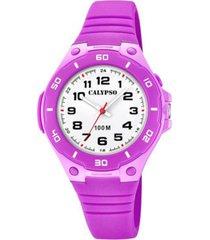 reloj sweet time morado calypso