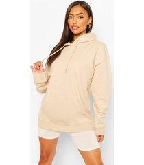 petite basic hoodie, zand